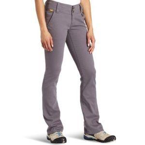 Lole Trek Pants 50+ SPF Stretch Gray Bootcut Y317